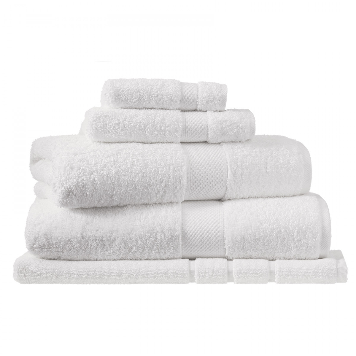 Sheridan Luxury Egyptian Towel Collection - Snow