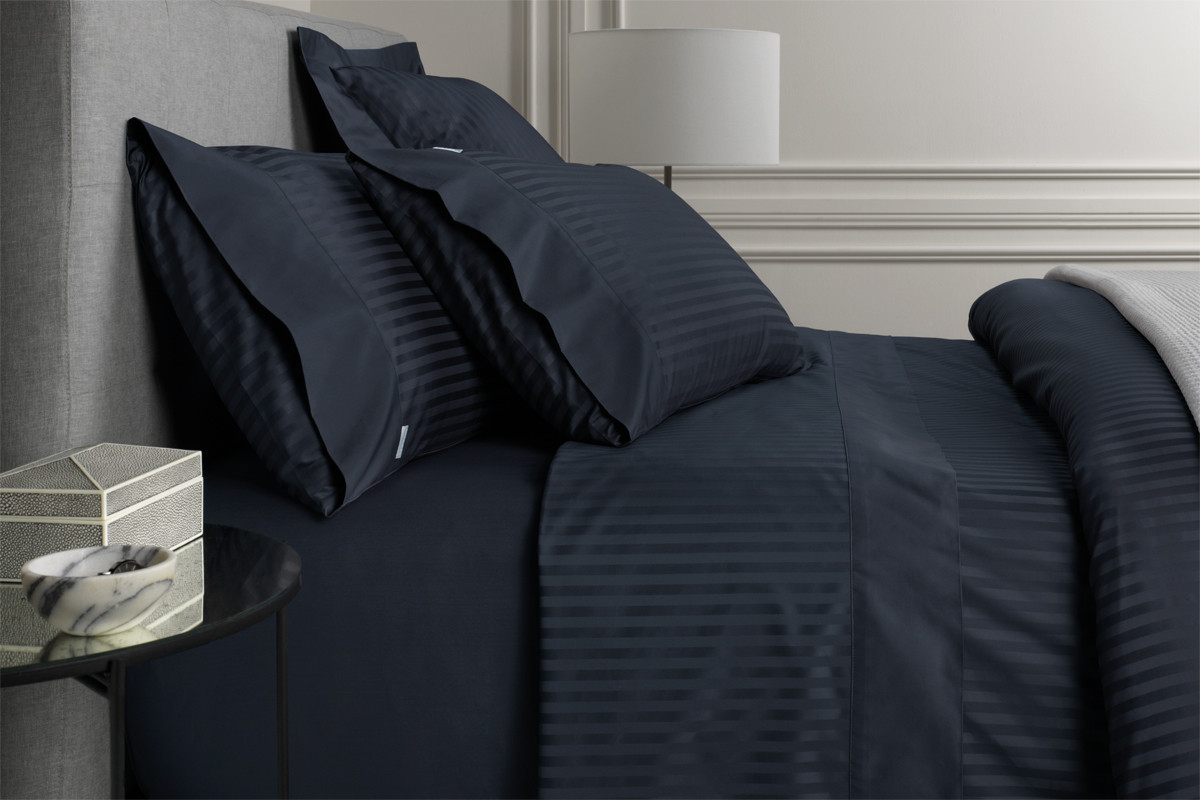 1200tc Millennia Standard Pillowcase - Midnight - Sheridan