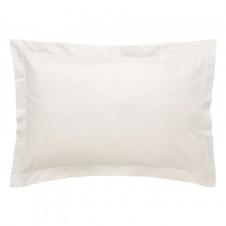 1000tc Luxury Cotton Tailored Pillowcase Chalk