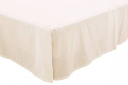 300tc classic percale bed skirt - Husk