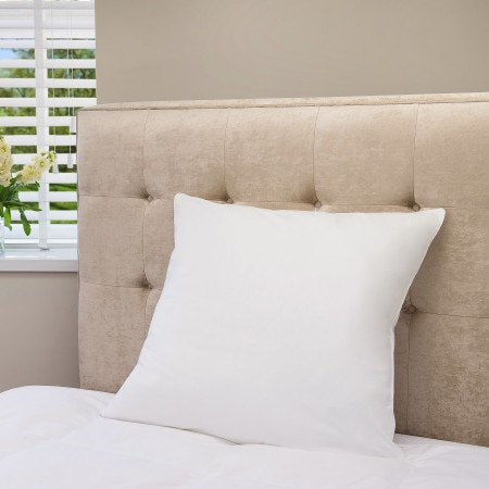 Sheridan Dream Square Pillow - white
