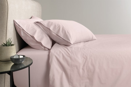 Sheridan 300tc Percale pillowcase (pair) - Thistle