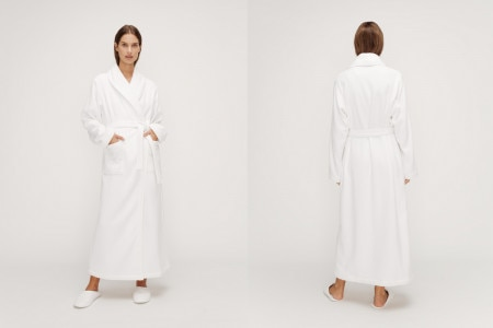 Sheridan Everglades Robe - White