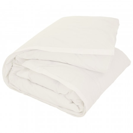 300tc Classic Percale Tailored Quilt Cover - Chalk - Sheridan