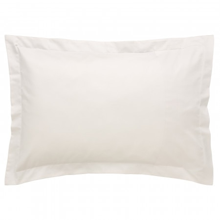 500tc Sateen Tailored Pillowcase - White - Sheridan