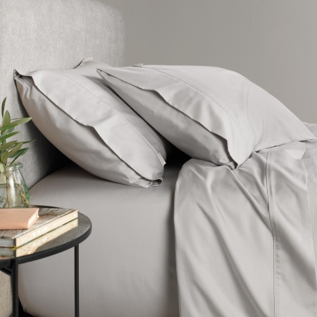 Sheridan Tencel Fitted Sheet - Grey