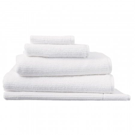 Sheridan Living Textures Towel Collection - White