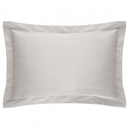 Sheridan 500tc Sateen Tailored Pillowcase - Silver