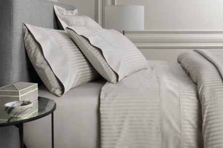 Sheridan 1200Tc Millennia Standard Pillowcase (Pair) - Silver
