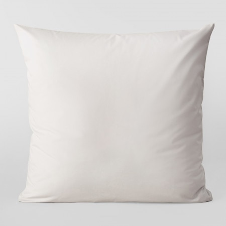 Sheridan 300Tc Organic Percale European Pillowcase - Light Grey
