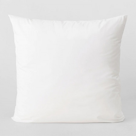 Sheridan 300Tc Organic Percale European Pillowcase - White