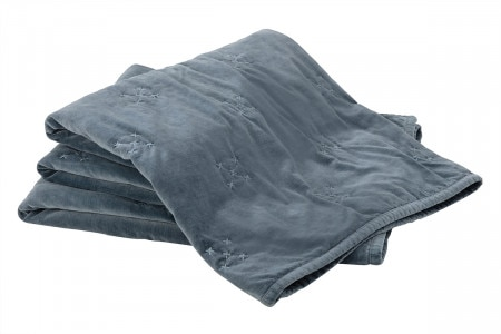 Sheridan Tormore Throw - Dark Gray