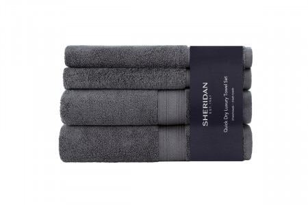 Sheridan Quick Dry Luxury Towel Collection - Grey