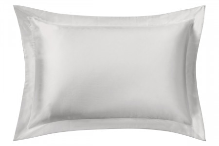 Sheridan Lanham Silk Tailored Pillowcase - Silver