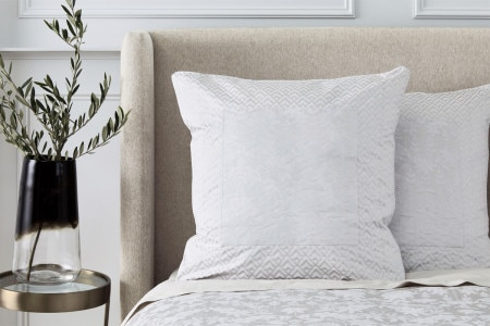 Sheridan Stedwell European Pillowcase - Pale grey