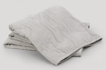 Sheridan Tormore Throw - Light Grey