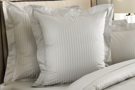 Sheridan 1200Tc Millennia European Pillowcase - Silver
