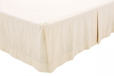 1000tc Luxury Cotton Bed Skirt - Chalk - Sheridan