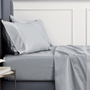 Sheridan 1200tc Palais Lux Tailored Quilt Cover - Silver