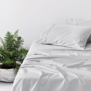 Sheridan 400tc Organic Cotton Pillowcase Pair - Grey