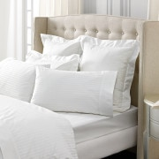 1200tc Millennia tailored Quilt Cover - Snow - Sheridan