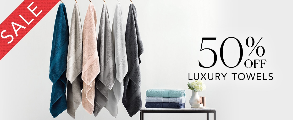 SALE - Up to 50% off Sheridan Luxury Towels