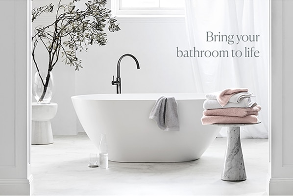 Bring your Bathroom to life with Sheridan